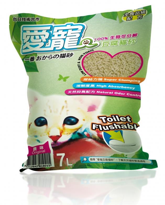 愛寵豆腐砂7L 水蜜桃 1