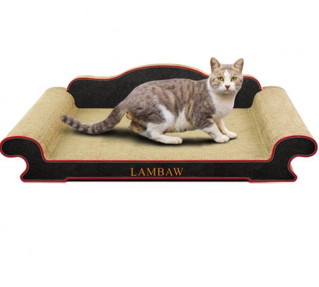 高背沙發型貓抓板(長80cm) 1