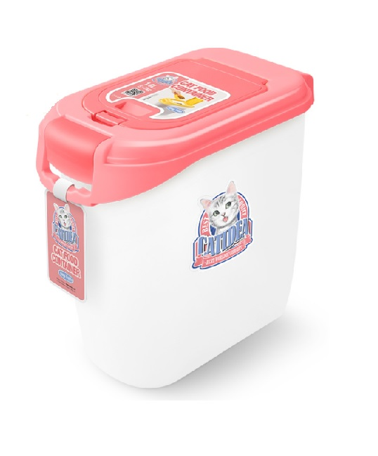 CATIDEA雙開型儲物桶 5kg 紅 1