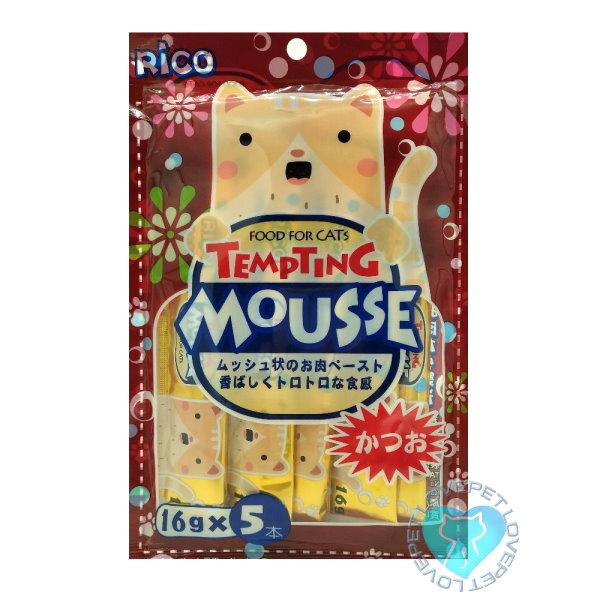 RICO懷石海鮮料理貓肉泥(6種口味)(16g*5入) 4