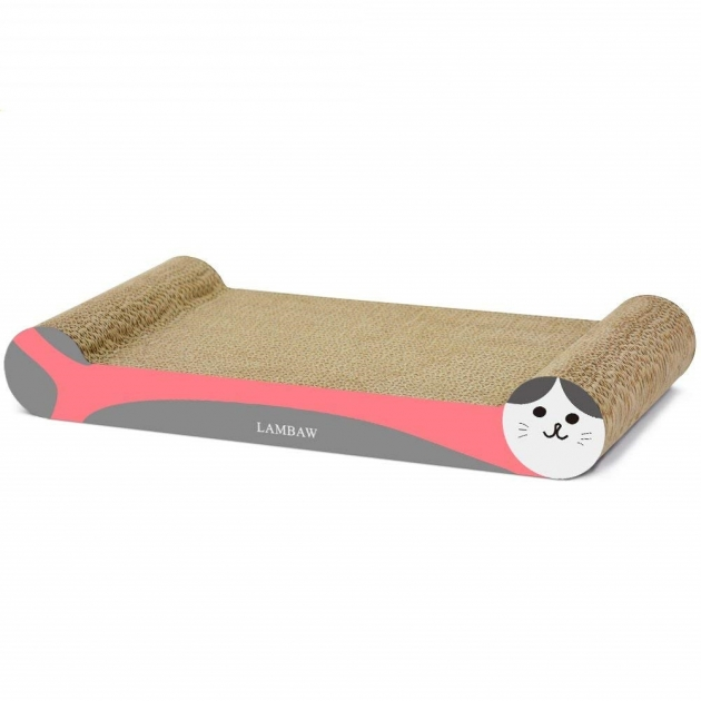 骨頭貓抓板(紅) 1