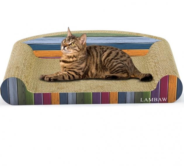條紋沙發貓抓板(長50cm) 1