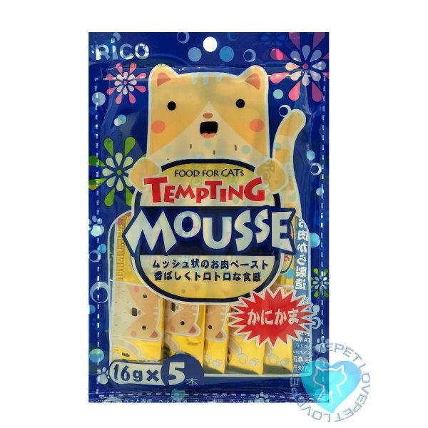 RICO懷石海鮮料理貓肉泥(6種口味)(16g*5入) 5