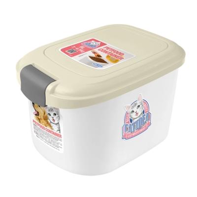 CATIDEA單開型儲物桶 3kg 白 1