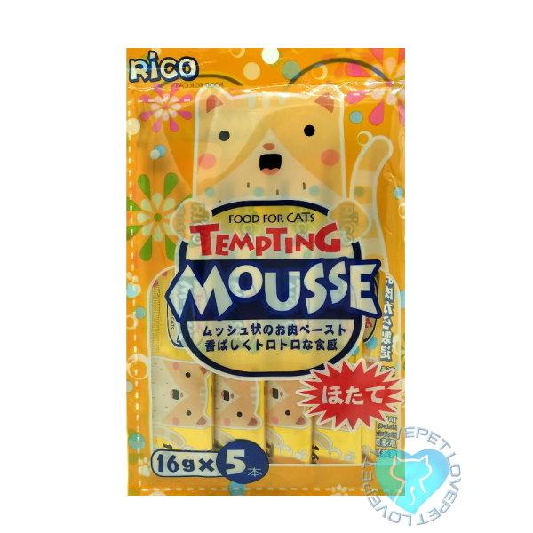 RICO懷石海鮮料理貓肉泥(6種口味)(16g*5入) 1