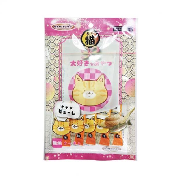 阿曼特化毛寒天雪泥-鮭魚(5入) 1