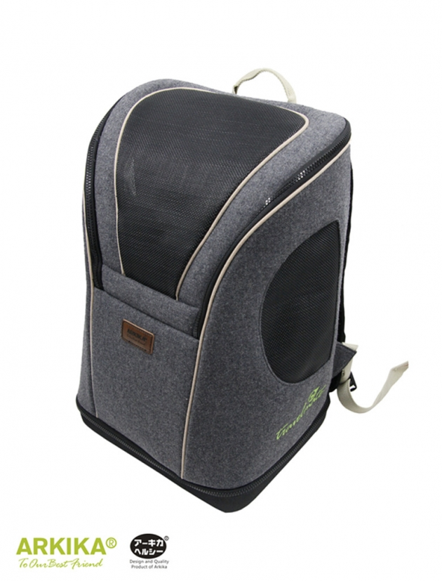 旅伴寵物背包(灰) 1