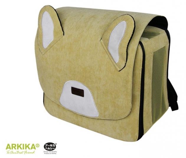 阿基努寵物背包(黃) 1
