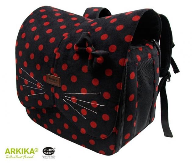 阿樂可寵物背包(黑) 1