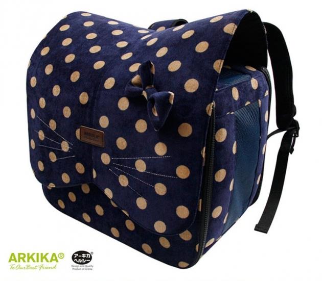 阿樂可寵物背包(藍) 1