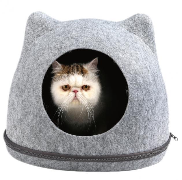 造型寵物貓窩(灰色) 1