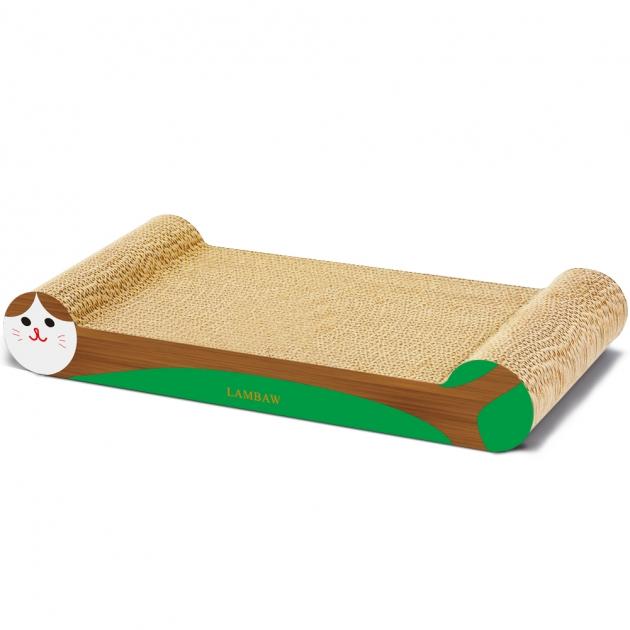 骨頭貓抓板(綠) 1