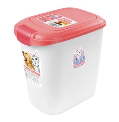 CATIDEA單開型儲物桶 5kg 紅 1