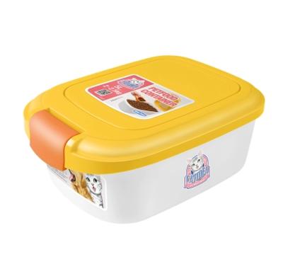 CATIDEA單開型儲物桶 2kg 黃 1